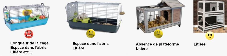Exemples de cage commentees